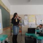 Palestra para as criaças da escola Jovelina Morateli