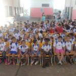 As palestras atraem a atenção das crianças