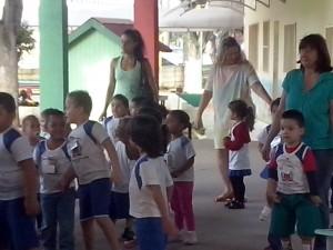 Palestra na Escola Clara Freire